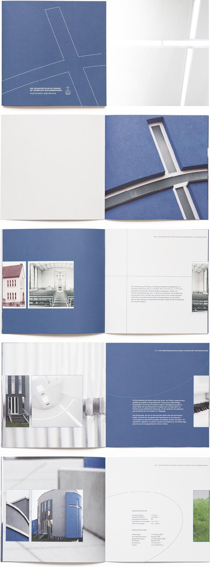 Bischoff Verlag Festschrift Broschürengestaltung
