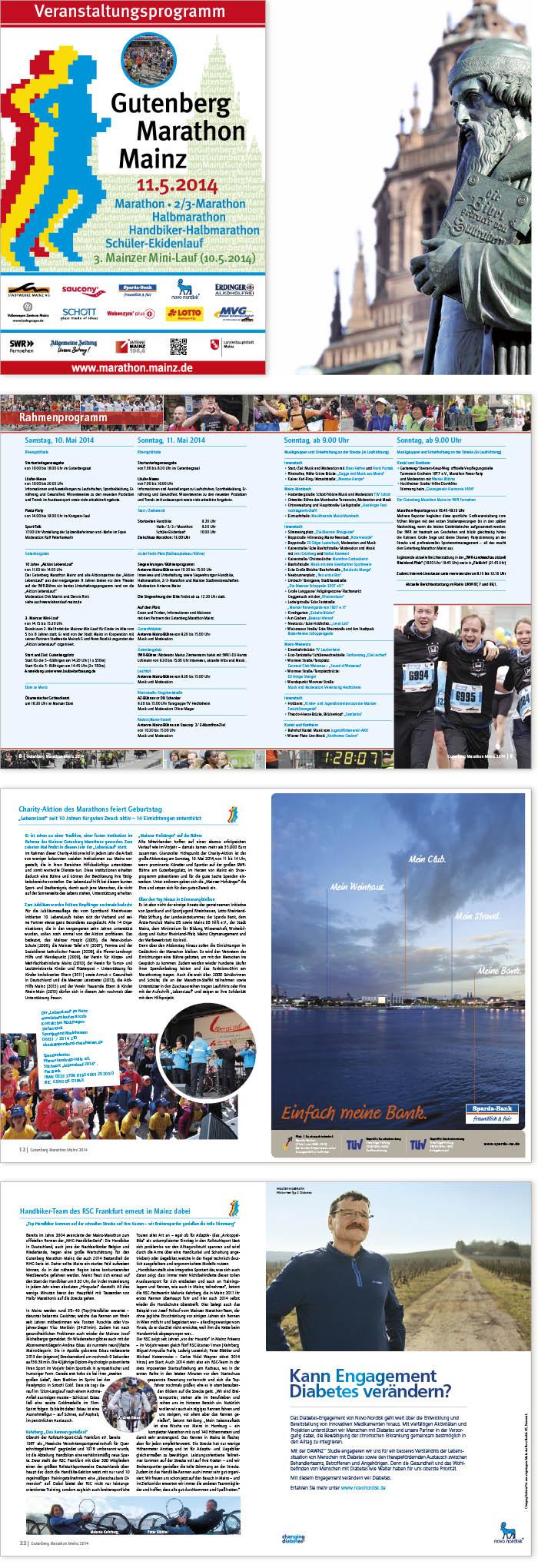 Gutenberg Marathon Programmheft