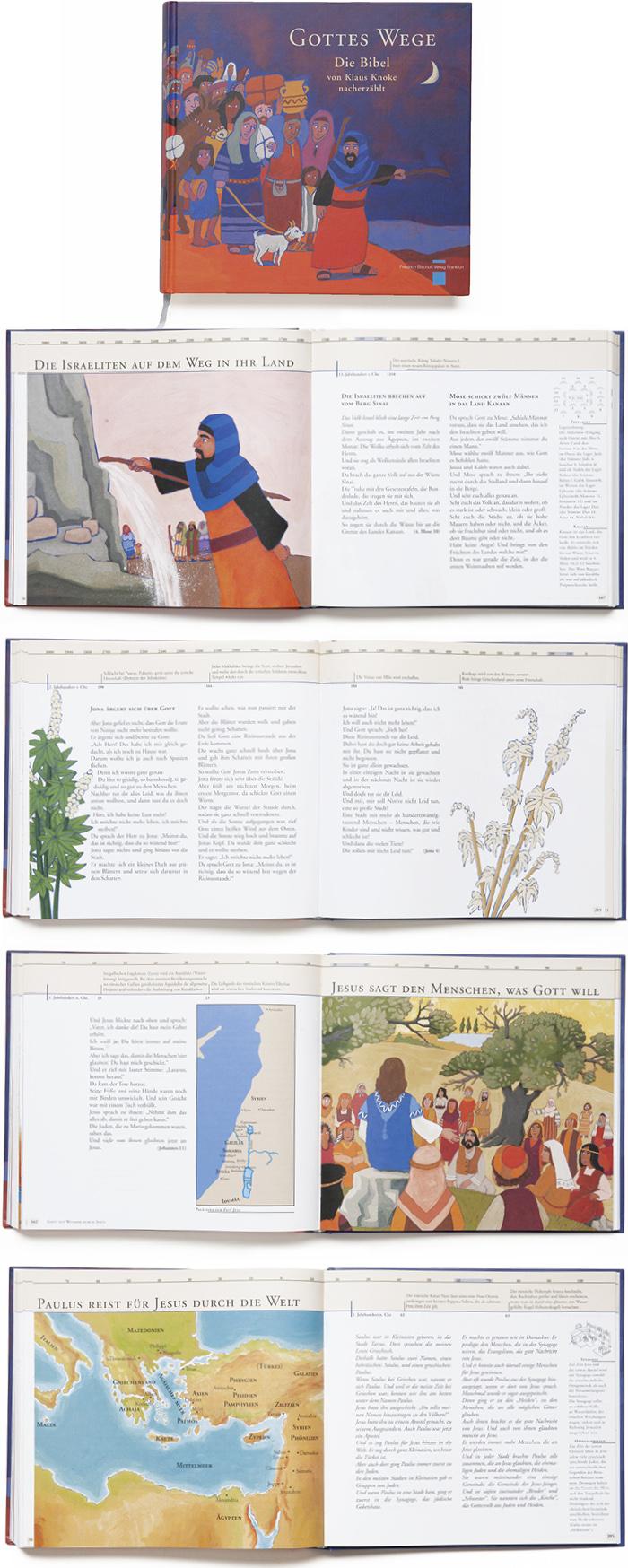 Bischoff Verlag Kinderbibel Buchgestaltung