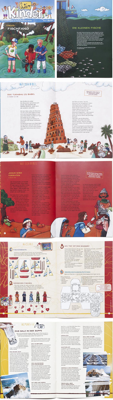 Bischoff Verlag Wir Kinder Kindermagazin Gestaltung Periodika