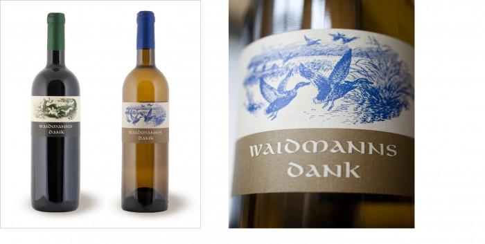 Waidmanns Dank Produktausstattung Weinetikettengestaltung Weinpr