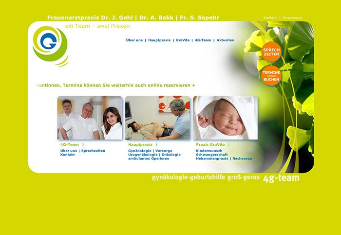Frauenarzt Dr. Gehl Webdesign